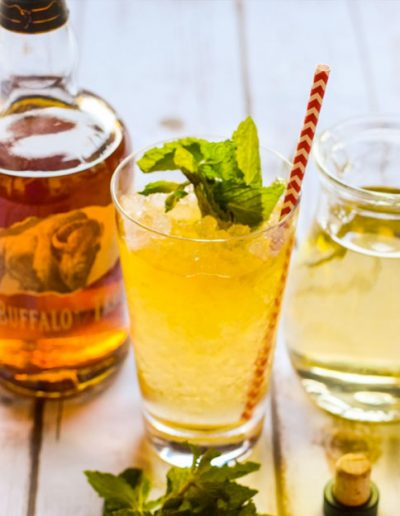 Bacon-infused Mint Juleps