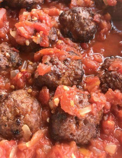 Smoked Spanish Meatballs recipe