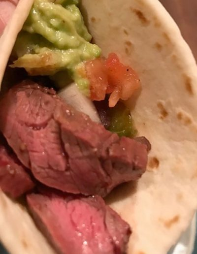 Southwest Seasoned Skirt Steak Tacos