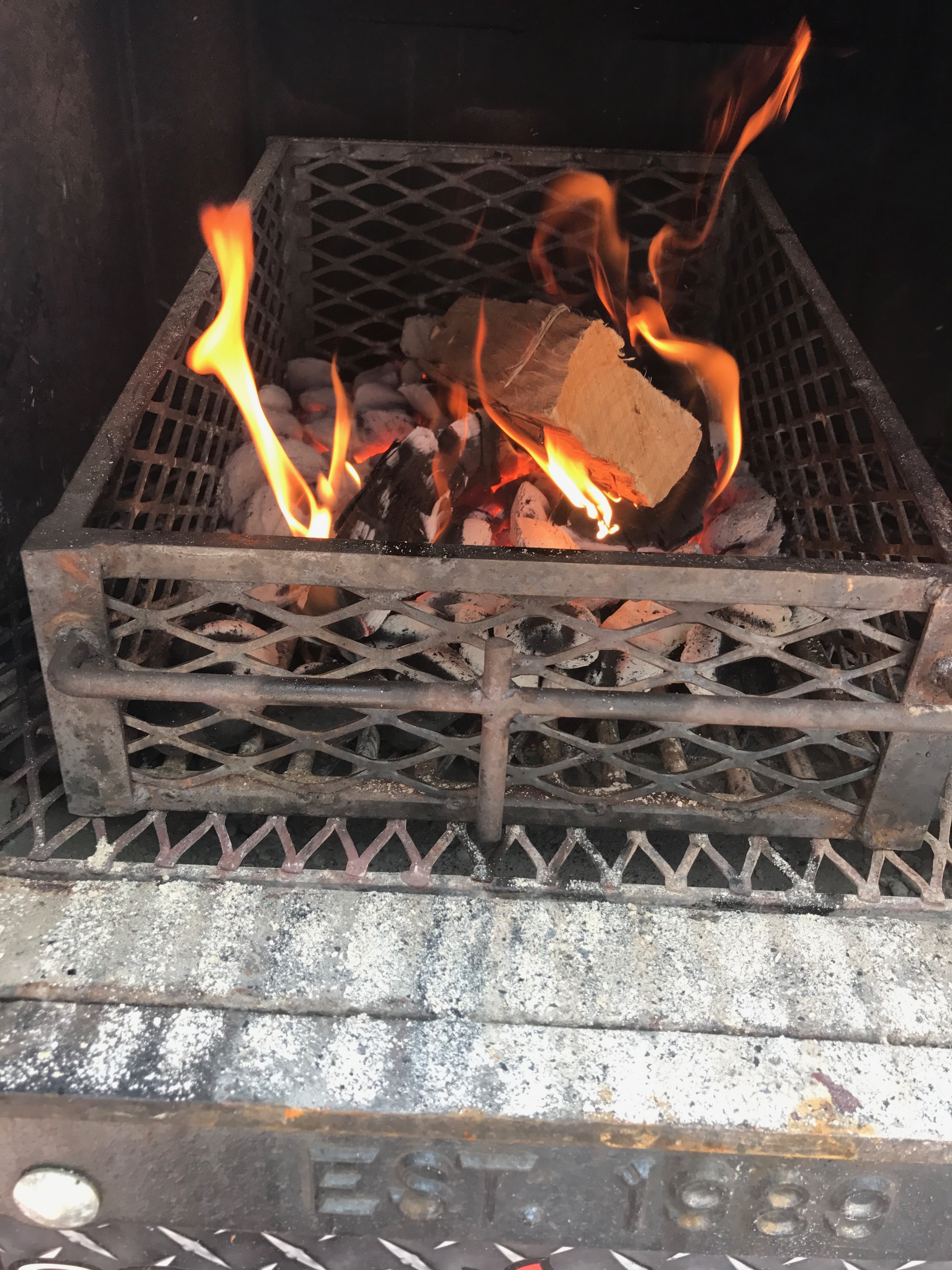 Pit and BBQ Fire Maintenance