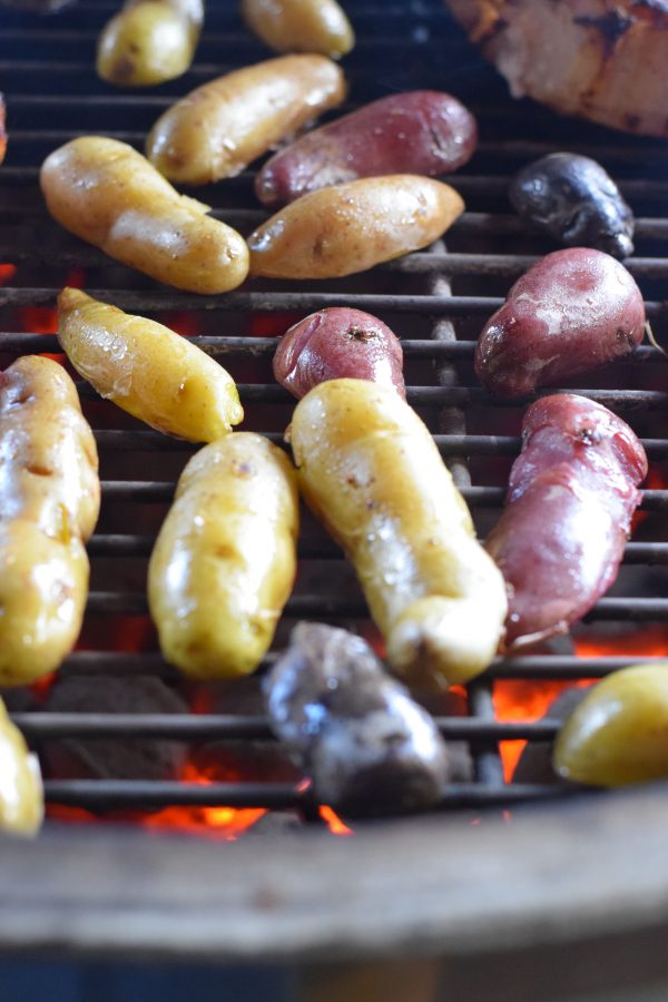 how to cook fingerling potatoes on the grill