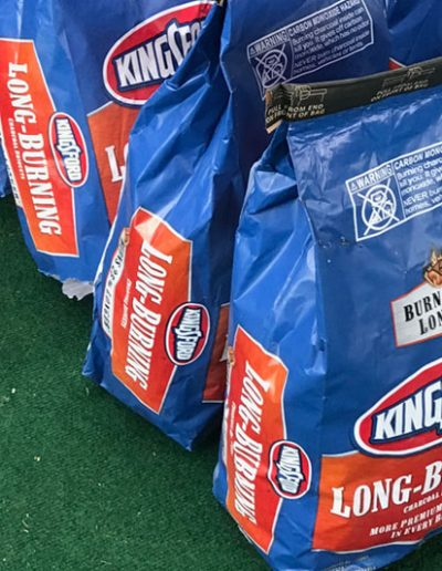 Kingsford Long Burning Charcoal at Memphis in May
