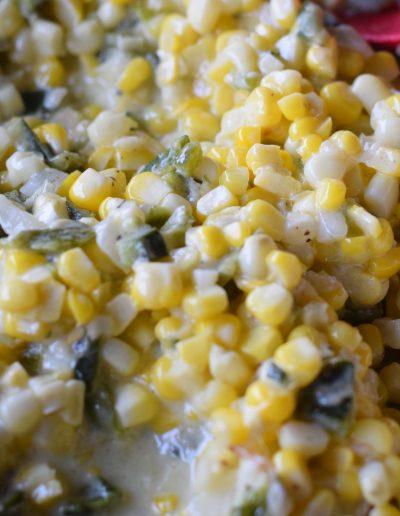 Poblano Creamed Corn