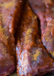 ribs rubbed