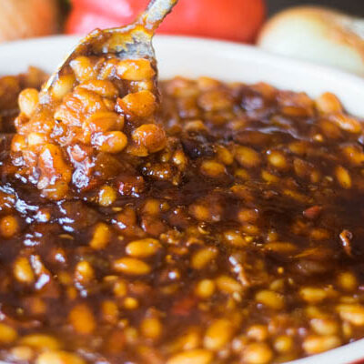 Maple Chipotle Baked Beans from Scratch