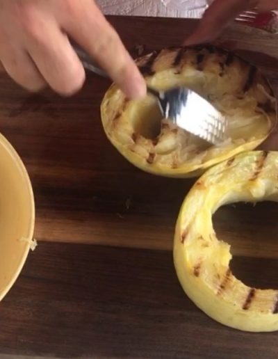 Grilled Spaghetti Squash with Video
