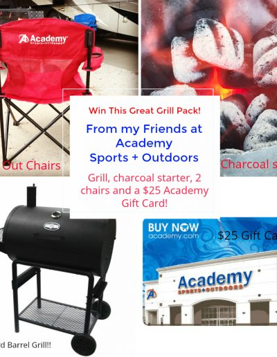 Melissa's Academy Sports + Outdoors Giveaway Oct 11-15!