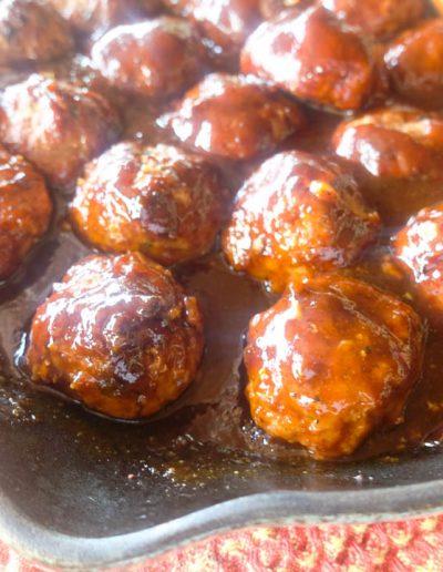 Smoked Pork Meatballs