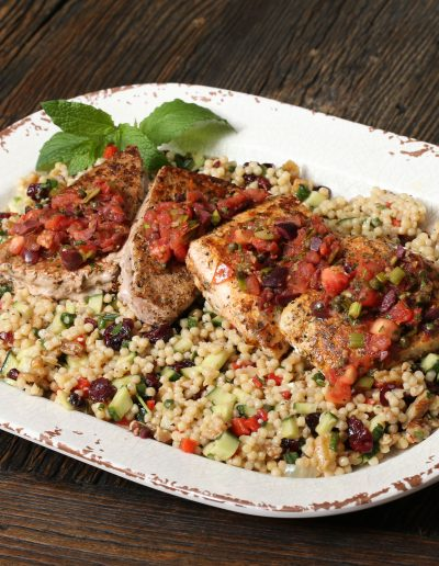 Mediterranean Mixed Grill with Couscous Salad Video