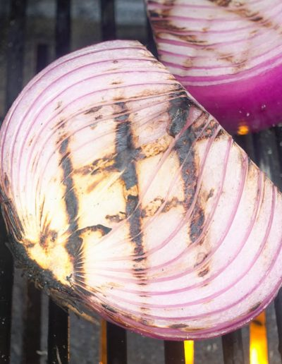 Grilled Pickled Red Onions