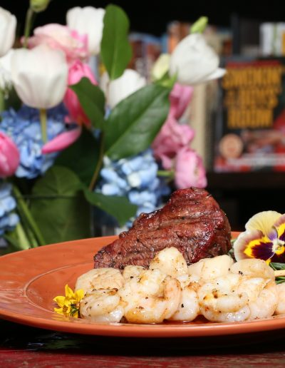 Surf and Turf with Chipotle Glaze
