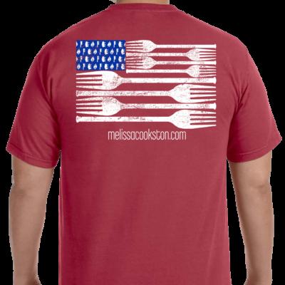 Melissa's signature t-shirt