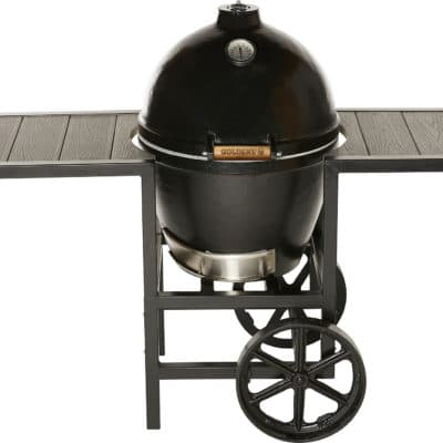 "Golden's 20.5"" grill with cart"