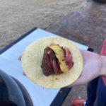 melissa holding taco