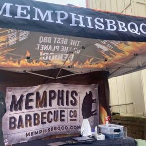 Memphis BBQ Co Tent