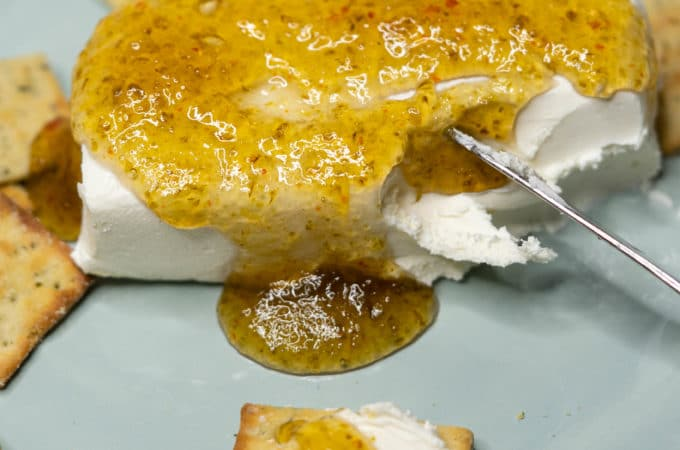 jalapeno jelly and cream cheese