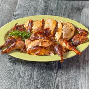 platter of pheasant